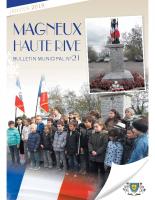 Bulletin n° 21 2019